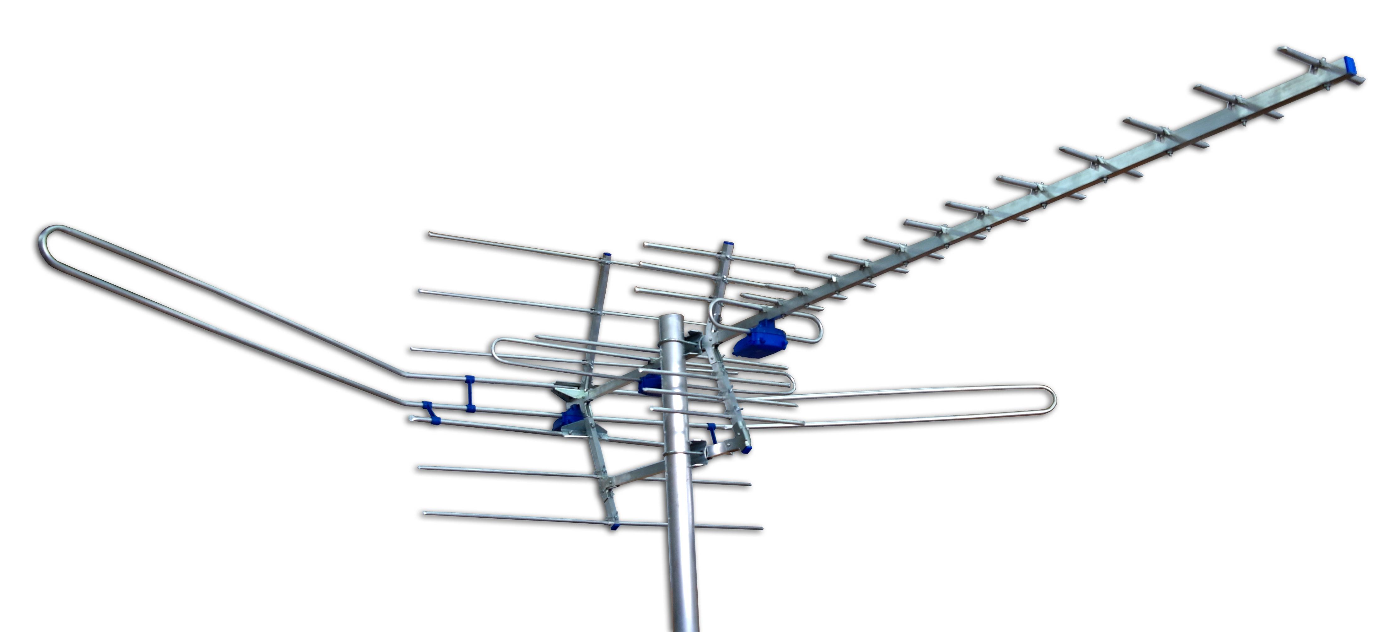 Цифровые антенны своими руками: из телевизионного кабеля 80