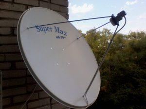 Прямофокусная спутниковая антенна