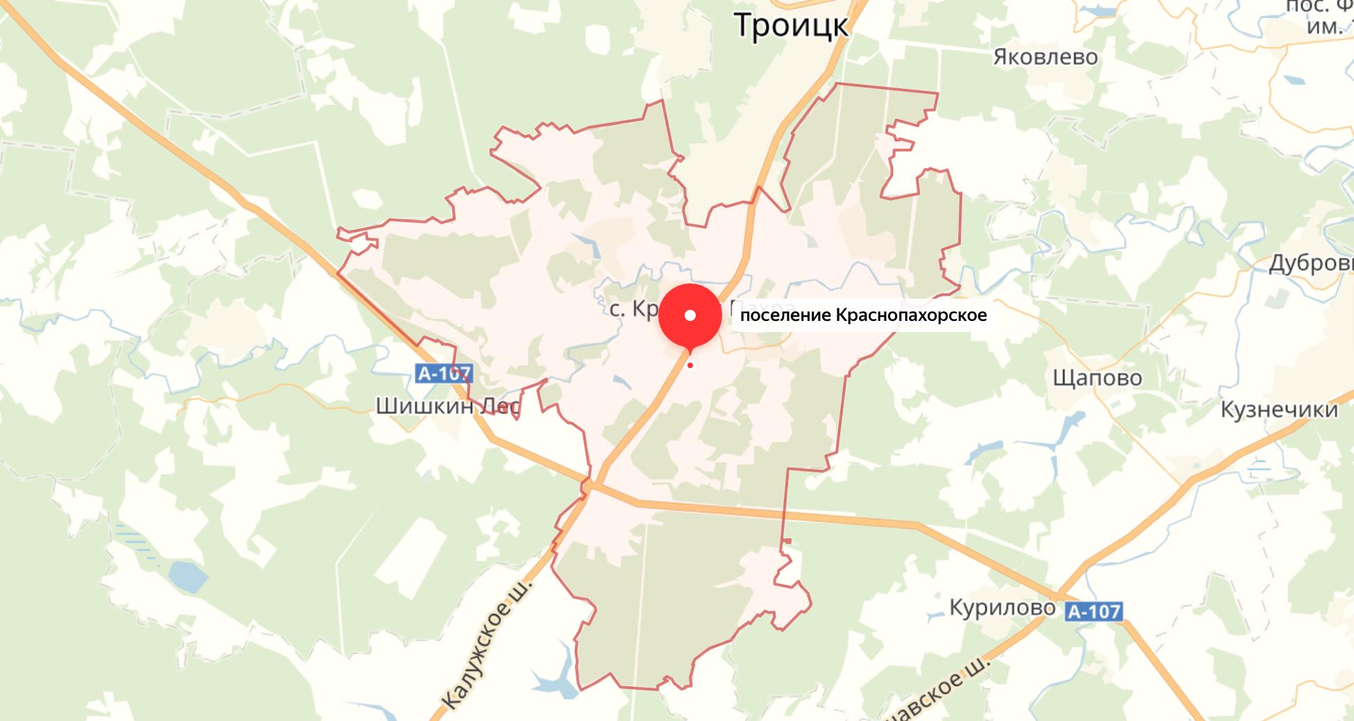 Подключить интернет в Краснопахорском поселении Москвы
