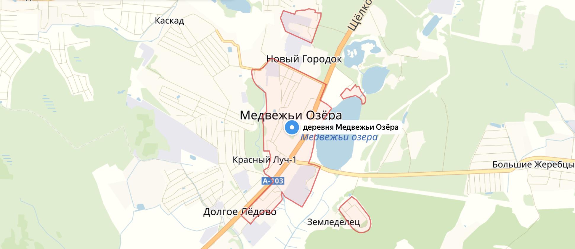 Подключить интернет в Медвежьих Озёрах (Щелковский район)