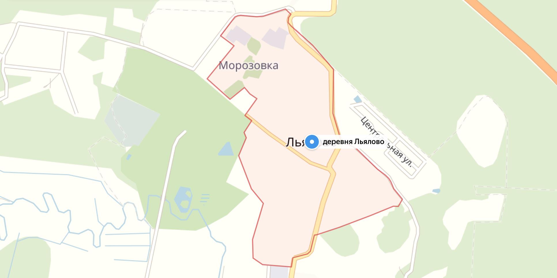 Подключить интернет в Льялово (Солнечногорский район)