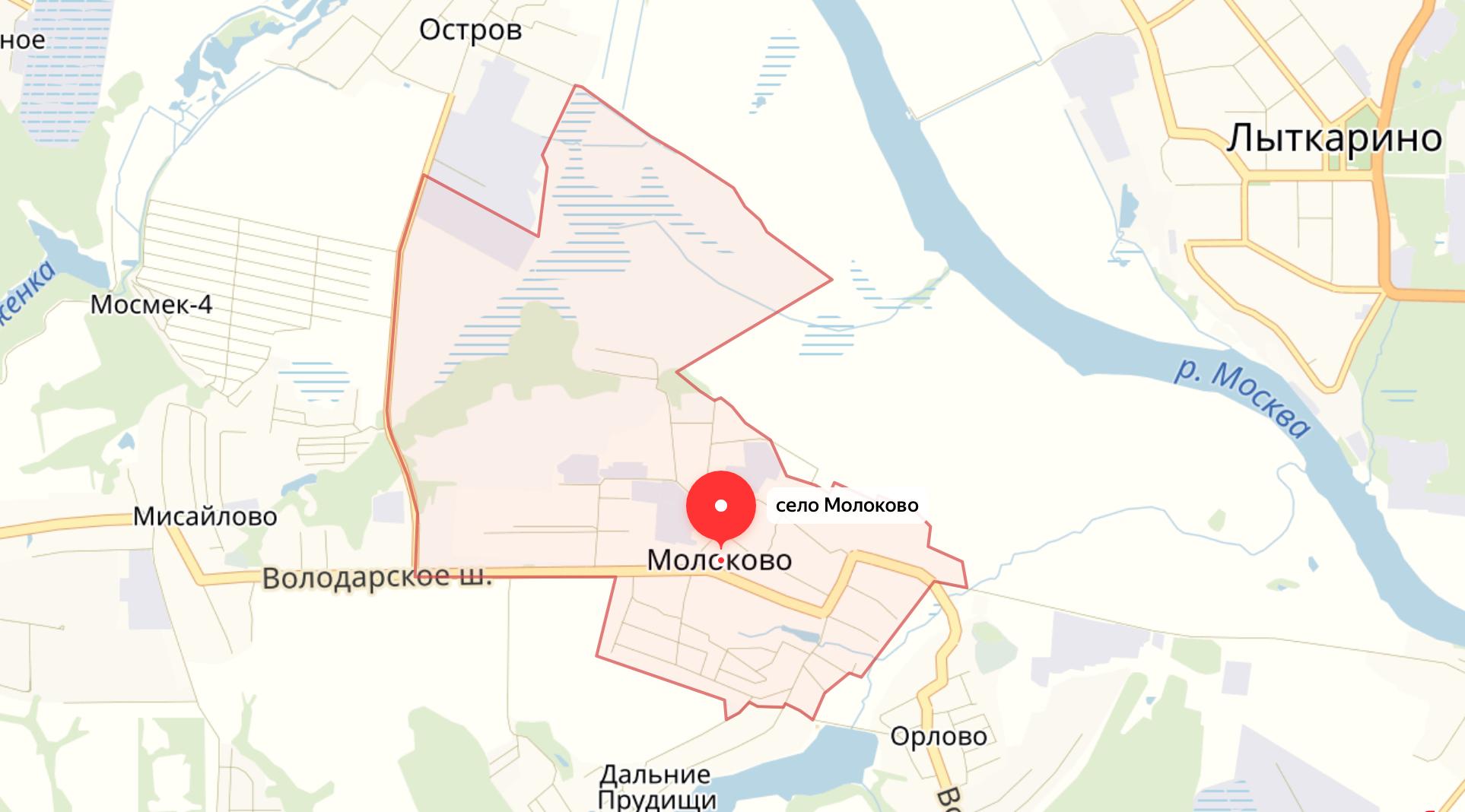 Подключить интернет в Молоково (Ленинский район)