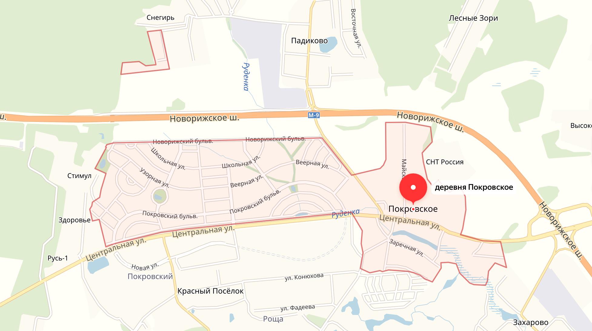 Подключить интернет в Покровское (Истринский район)