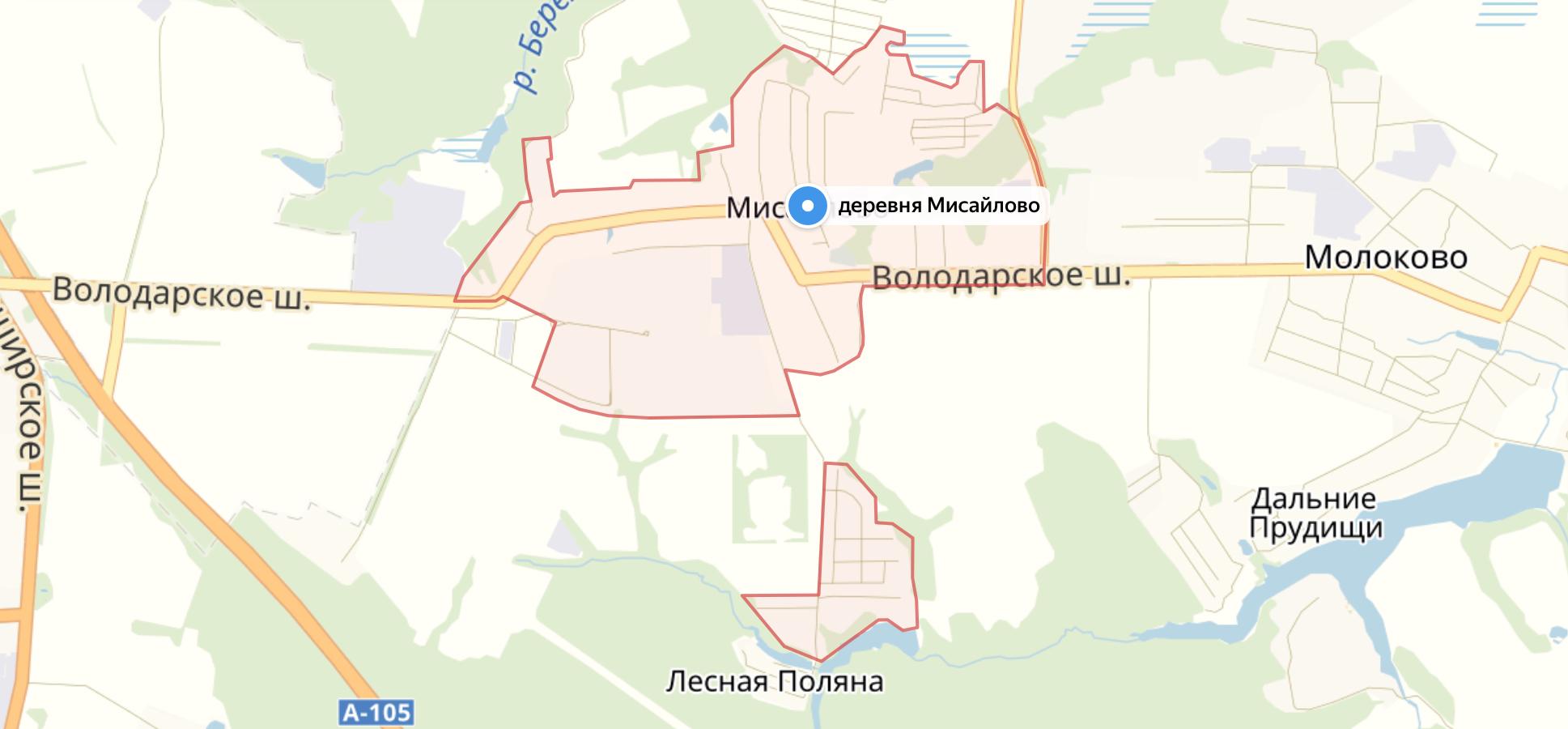 Подключить интернет в Мисайлово (Ленинский район)