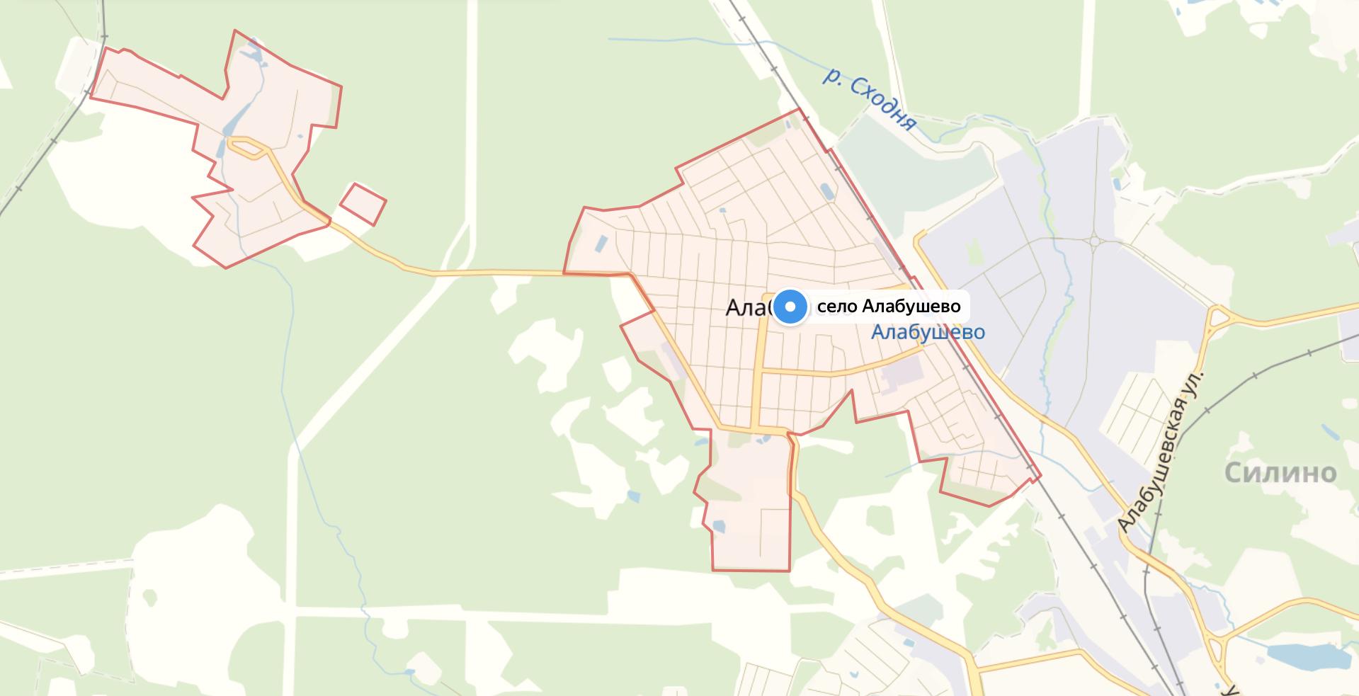 Подключить интернет в Алабушево (Солнечногорский район)