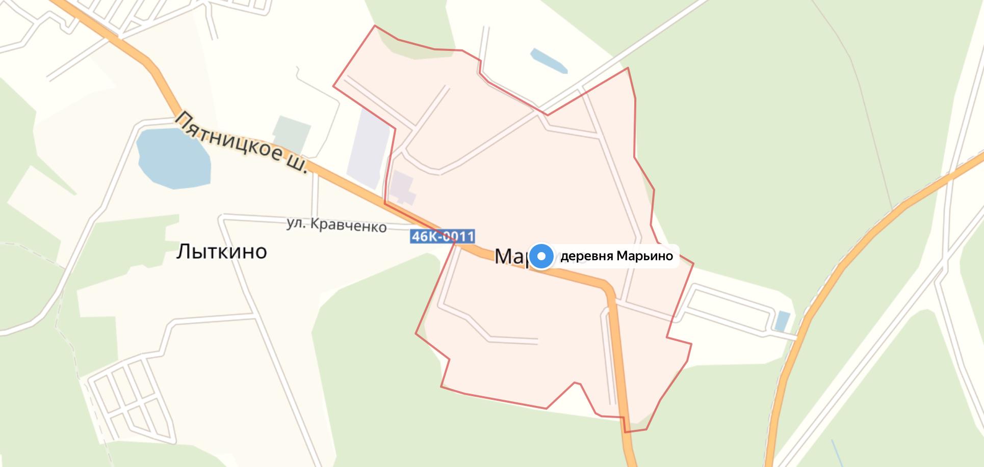 Подключить интернет в Марьино (Солнечногорский район)