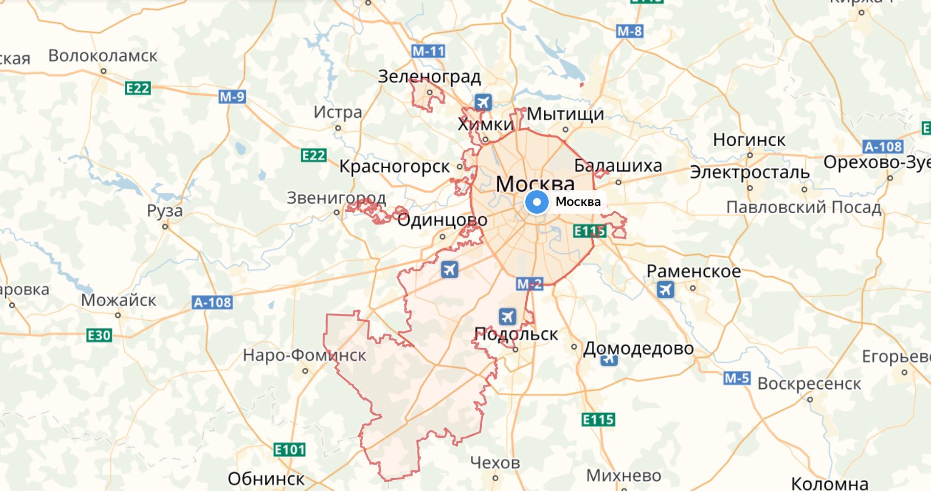 Установка антенн в Новой Москве и Московской области